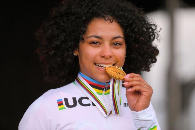 Ceylin Alvarado nova campeã mundial de Ciclocrosse!