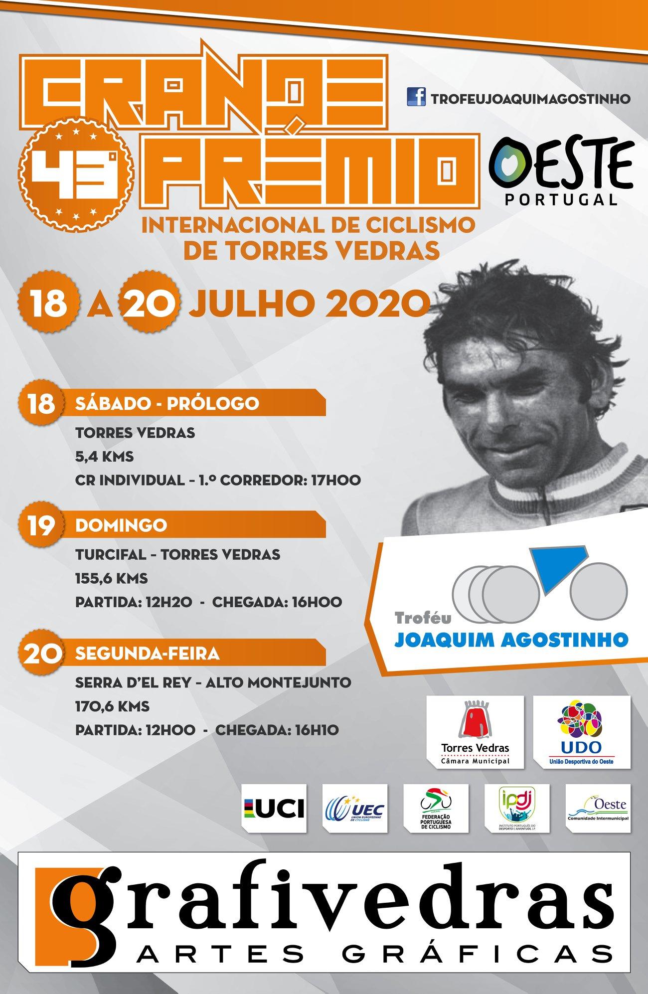 Percurso do Trofeu Joaquim Agostinho já é conhecido!