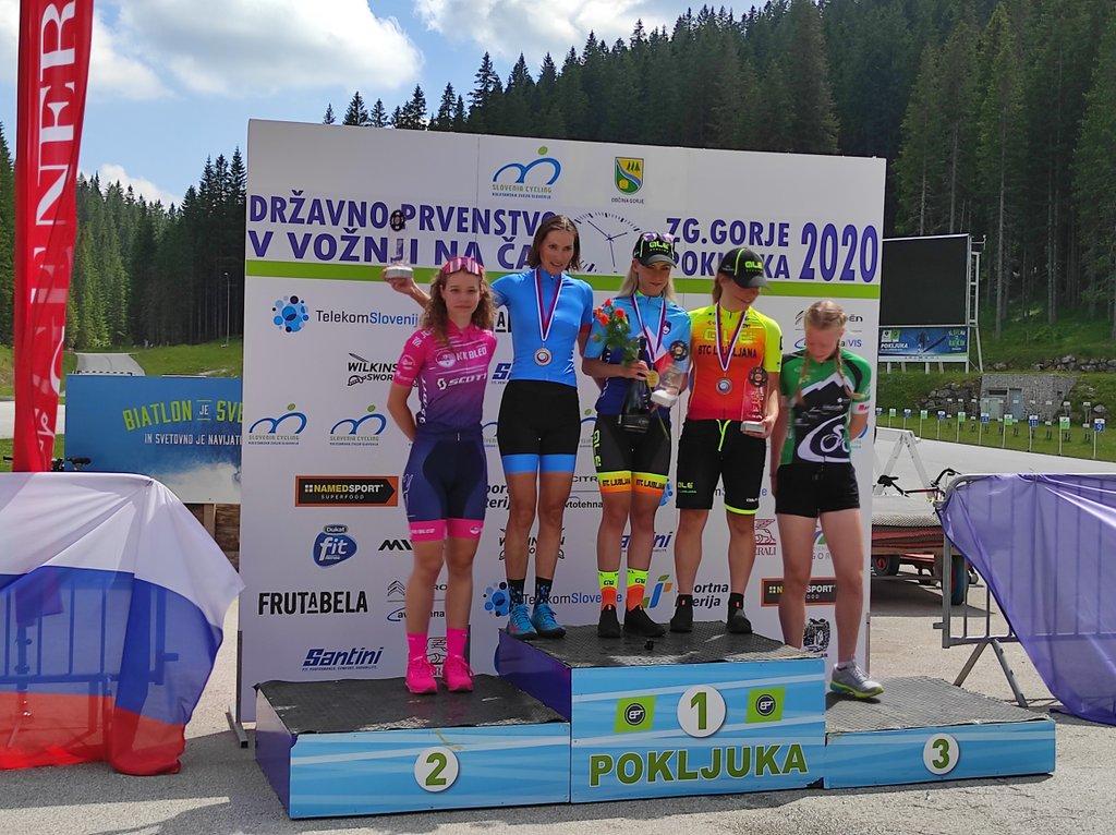 Alé BTC Ljubljana domina Nacionais femininos na Eslovénia