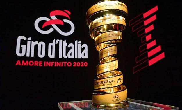 Giro d'Itália 2020 vai começar em Sicília!