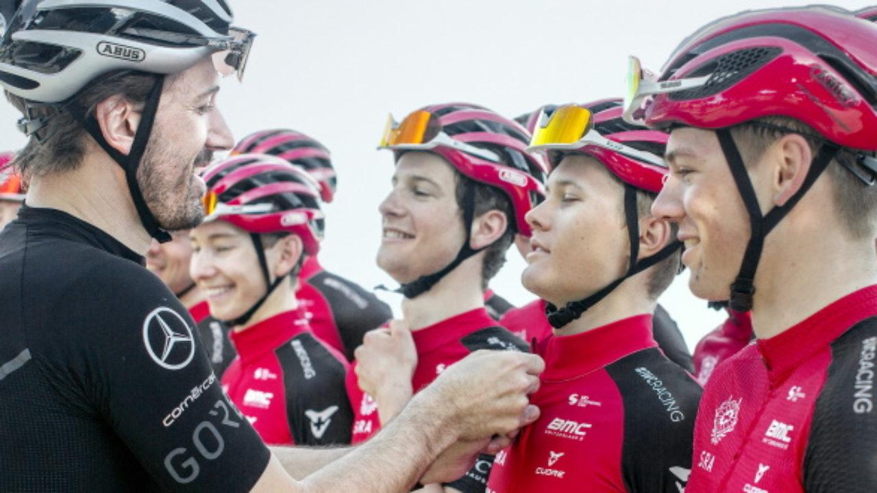 Fabian Cancellara novo mentor da Swiss Racing Academy