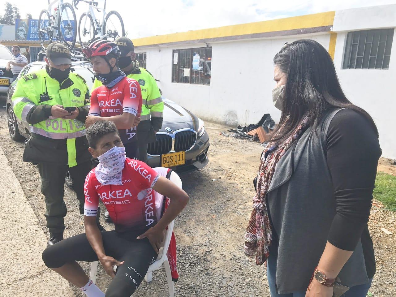 Quintana sofre acidente enquanto treinava!