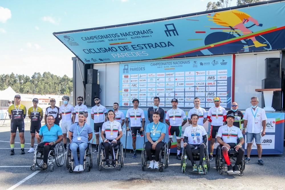 Conheça os novos Campeões Nacionais de Paraciclismo em contrarrelógio!