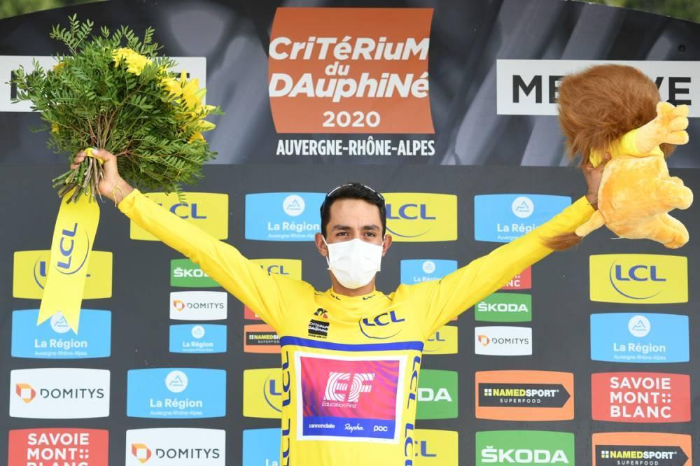 Ao ritmo de Kuss, o Dauphiné é de Daniel Martinez!