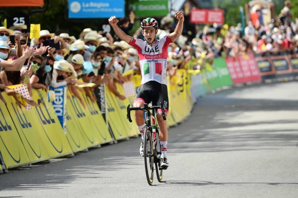 Formolo fugiu pela Madeleine para vencer etapa!