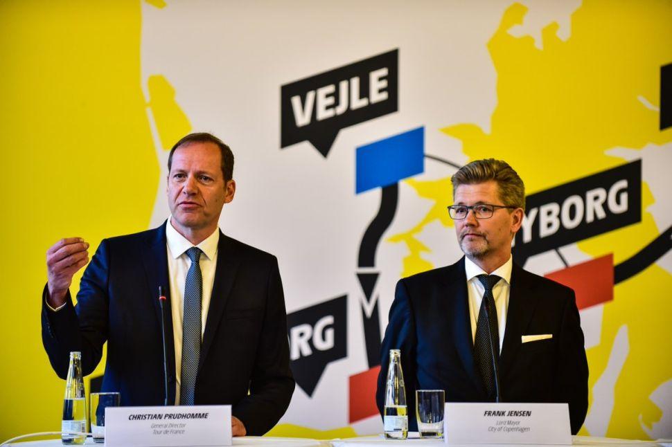 Futebol levou a melhor, e partida do Le Tour na Dinamarca passa para 2022