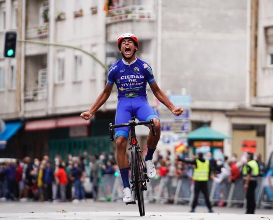 António Morgado vence etapa da Vuelta a Besaya Cadetes!