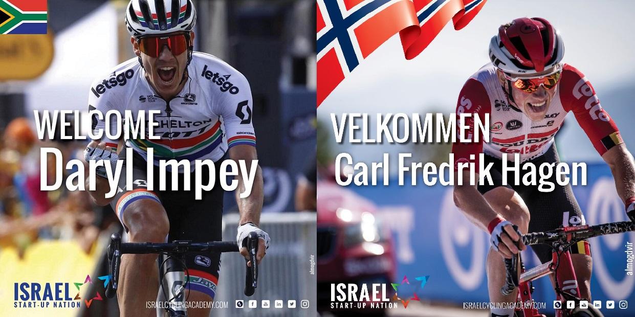 Froome chama por Impey e Hagen!
