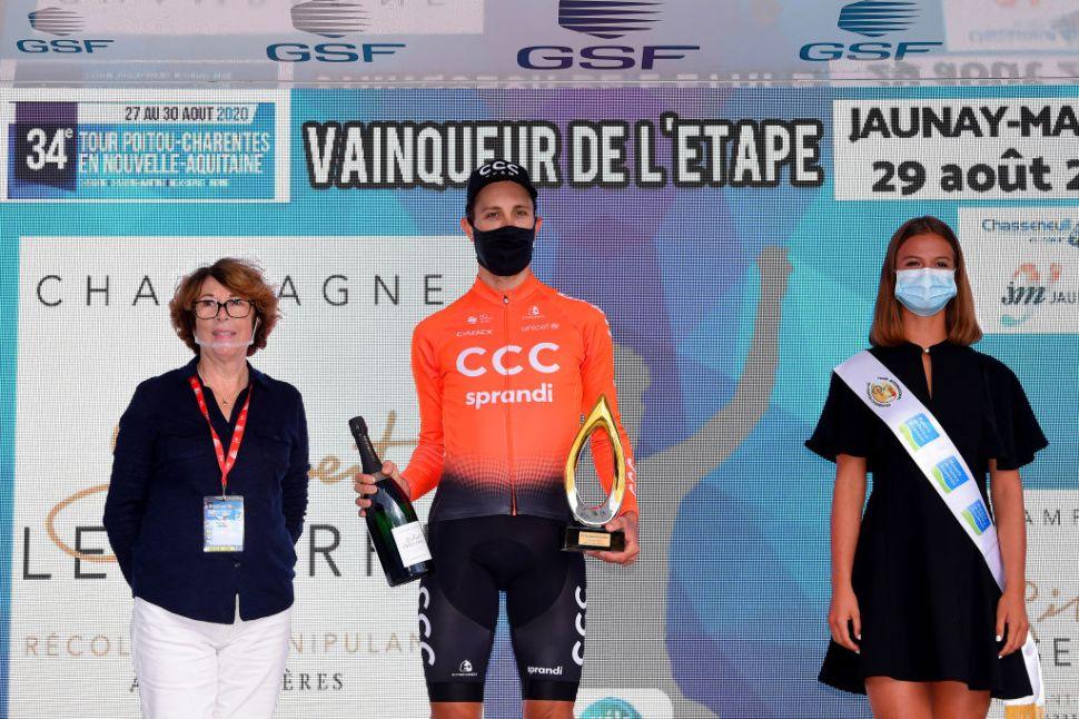 Cerny é o novo líder do Tour Poitou-Charentes!