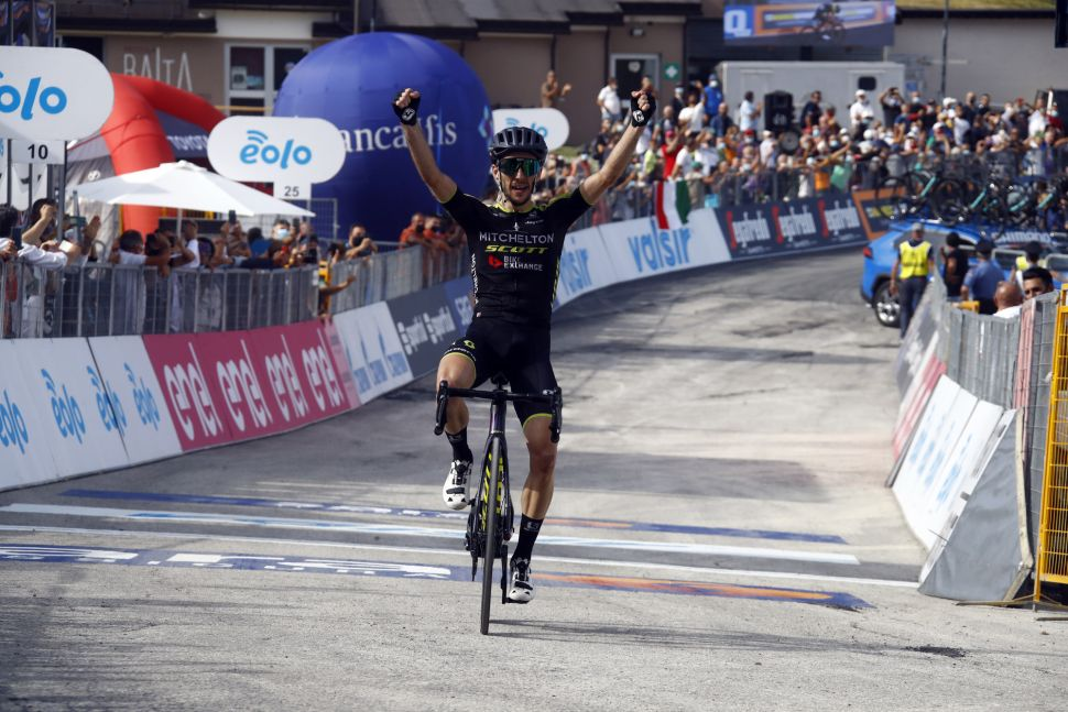 Super Yates vence no Sassotetto e lidera agora o Tirreno!