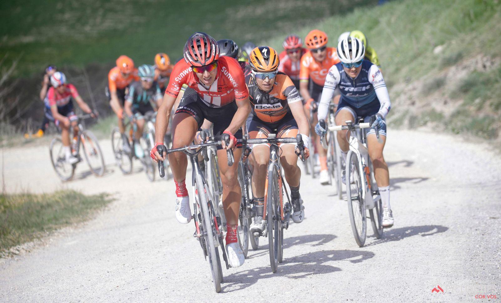 Sterrato para fazer as primeiras diferenças no Giro  Rosa!