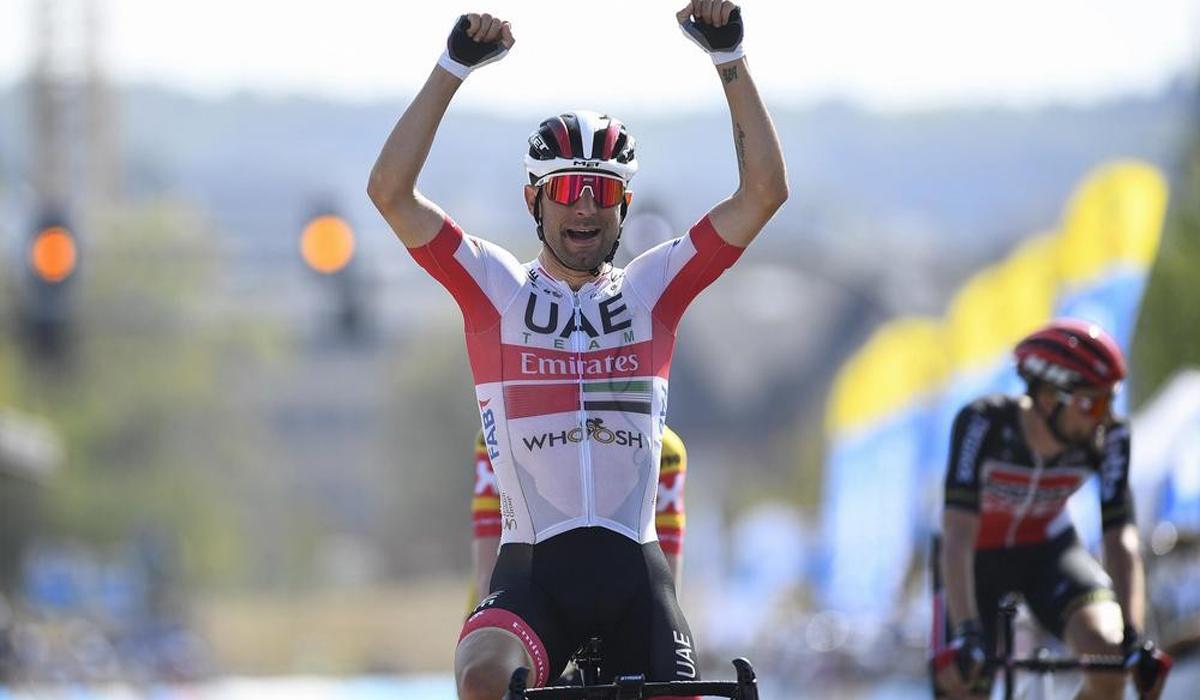 Diego Ulissi de novo vitorioso e líder do Luxemburgo!