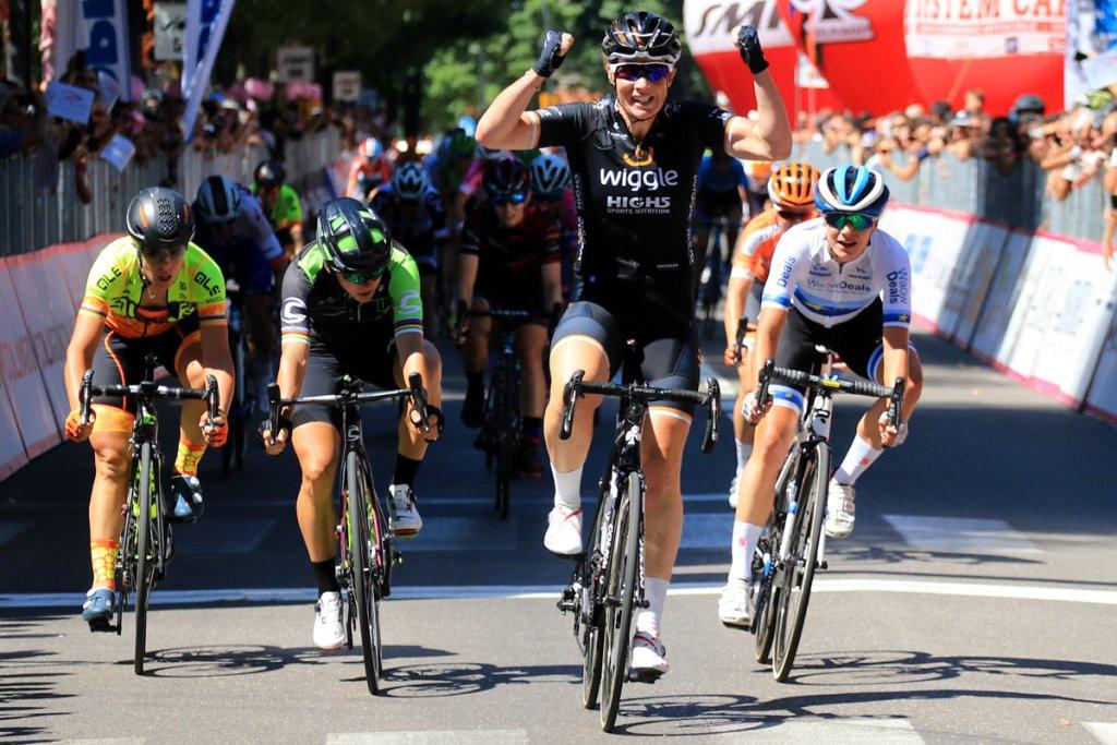 Poderá ser o primeiro sprint no Giro Rosa?