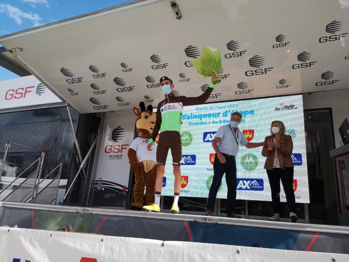 Valentin Paret-Peintre vence terceira etapa da Ronde de L'Isard.