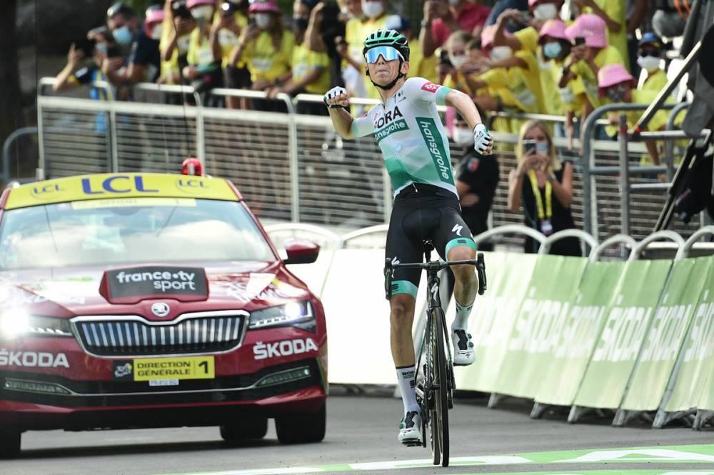 Lennard Kamna salva o Tour da Bora – Hansgrohe!