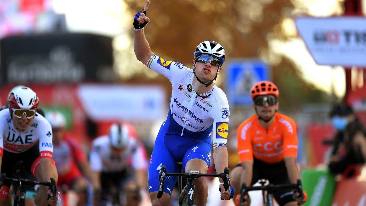 Foguete da Irlanda não dá hipótese também na Vuelta!