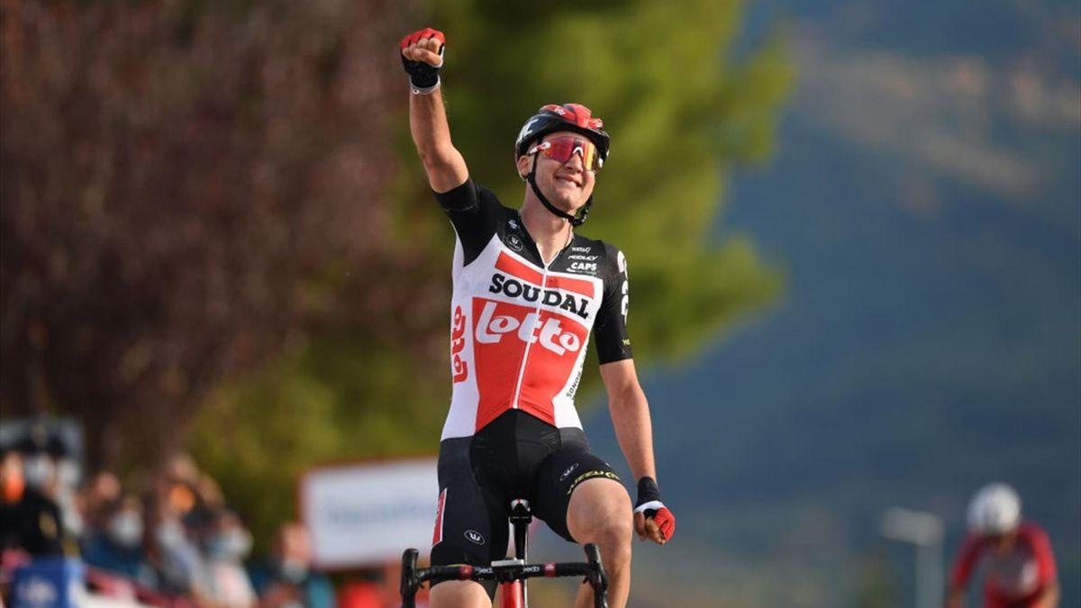 Tim Wellens leva vitória na primeira fuga a triunfar!