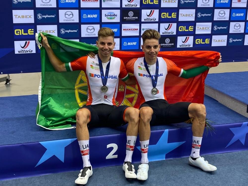 Gémeos Oliveira fecham Europeus com a Prata no Madison!