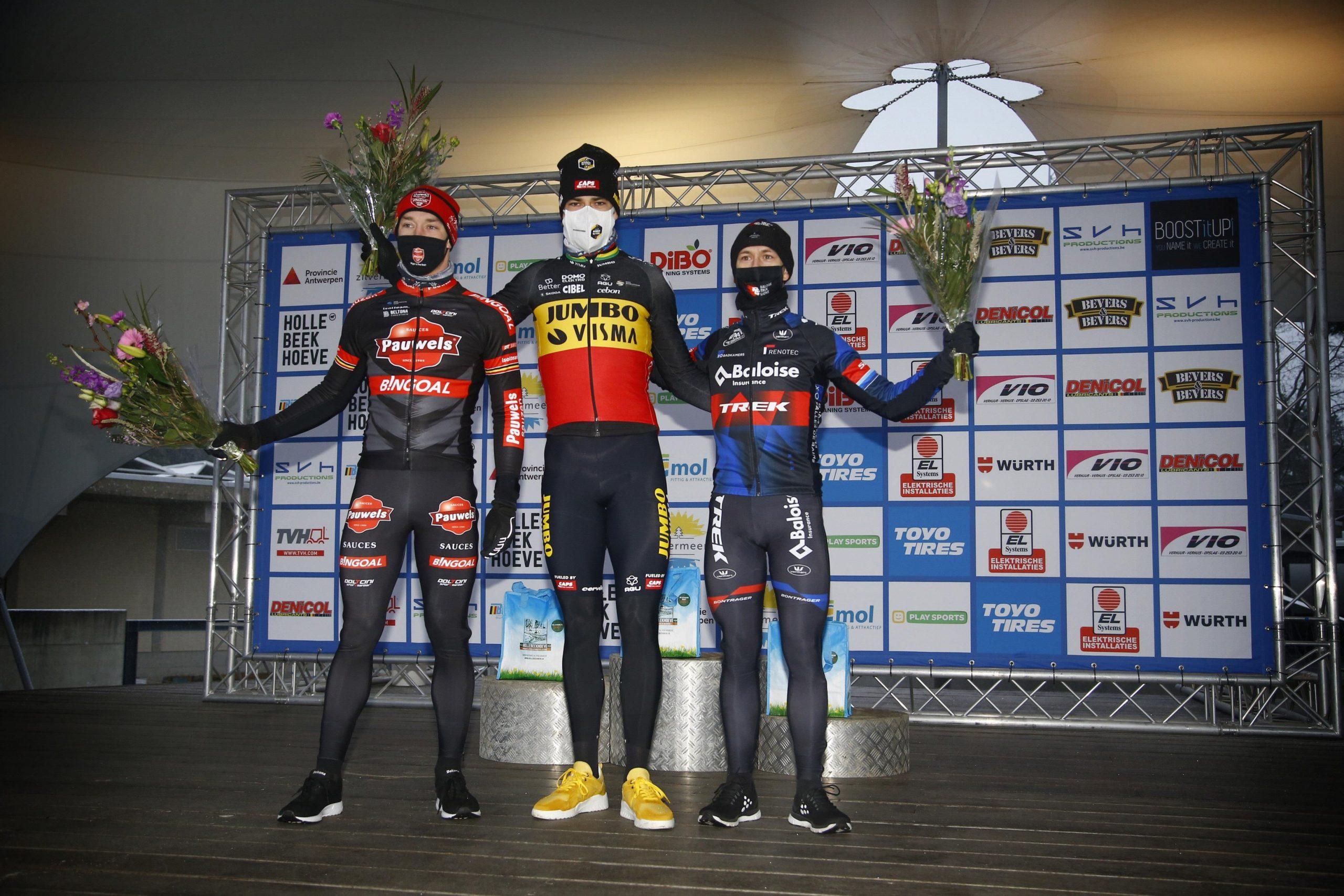 CX: Van Aert e Brand vencem o Lampiris Zilvermeercross!