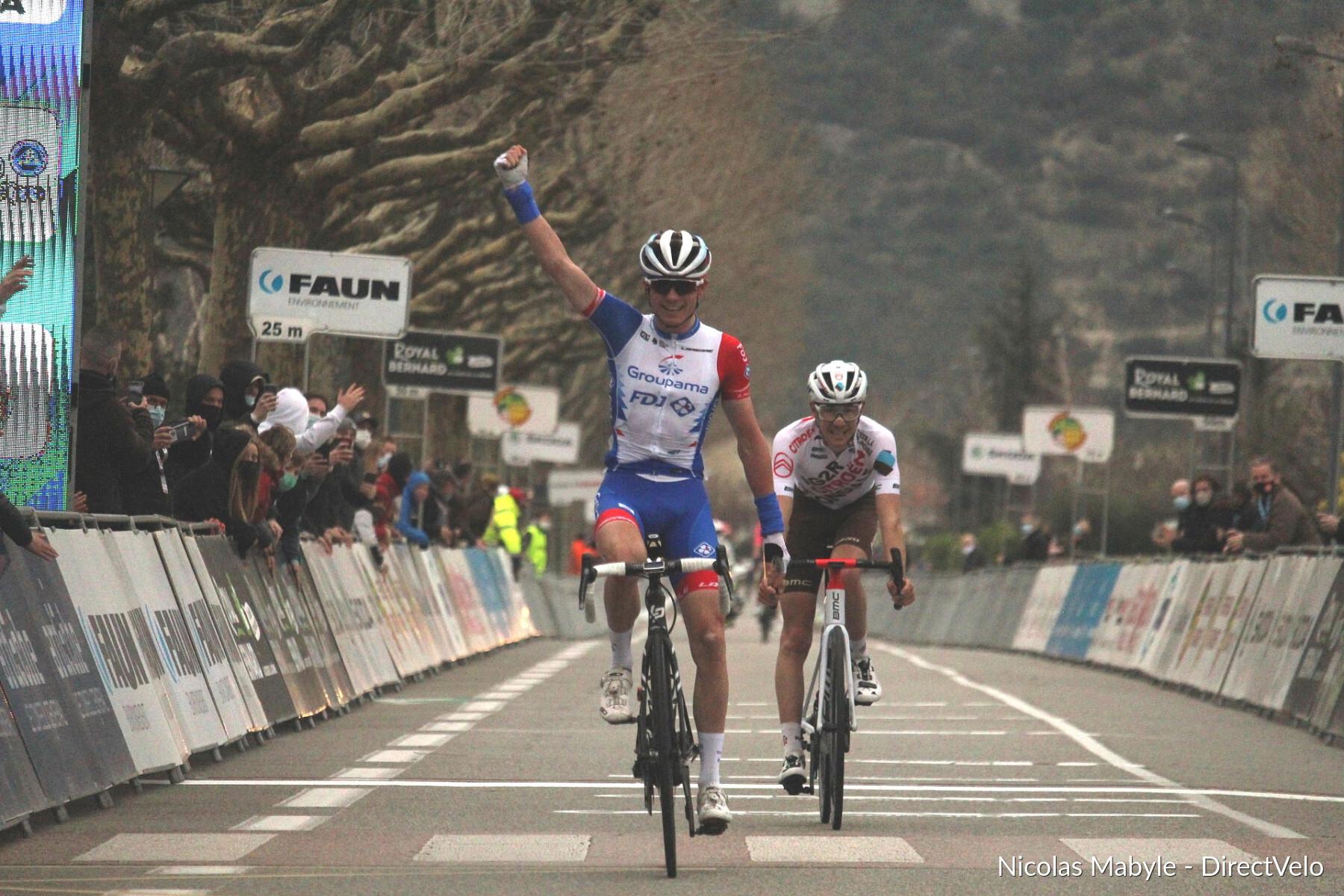 David Gaudu conquista Faun-Ardèche Classic!
