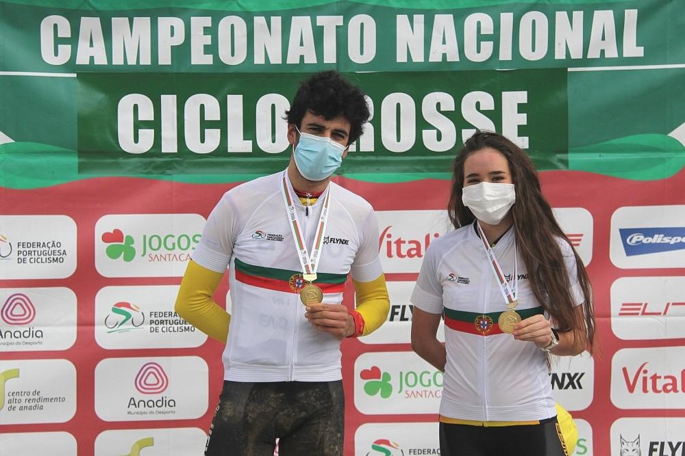 Mário Costa e Ana Santos são os Campeões Nacionais de Ciclocrosse!