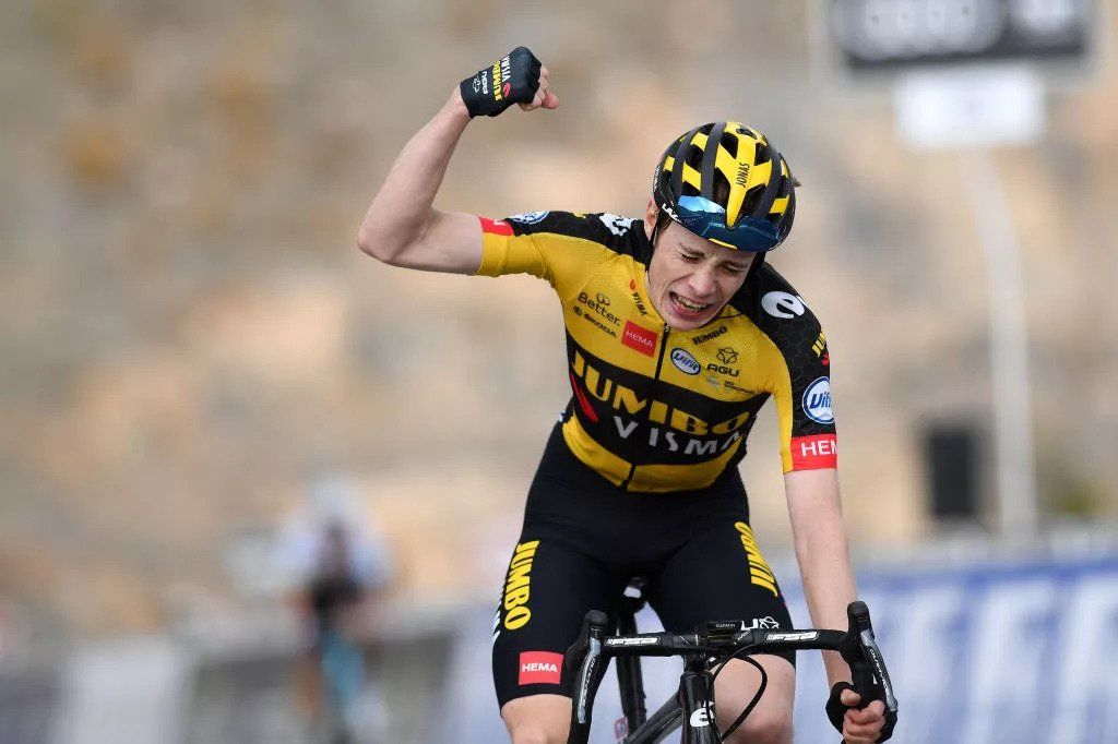 Vingegaard vence última etapa montanhosa do UAE Tour, num excelente dia de João Almeida! Pogacar segue firme!