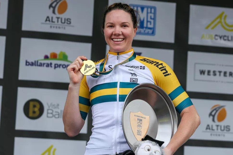Sarah Roy sagra-se campeã nacional australiana!