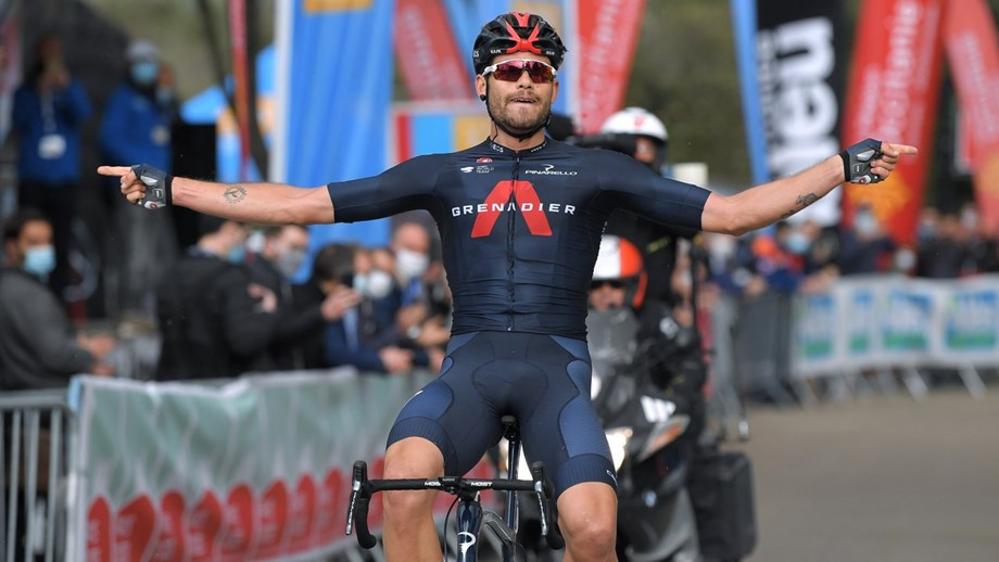Filippo Ganna vence etapa, Wellens mantém liderança da Étoile de Bessèges!