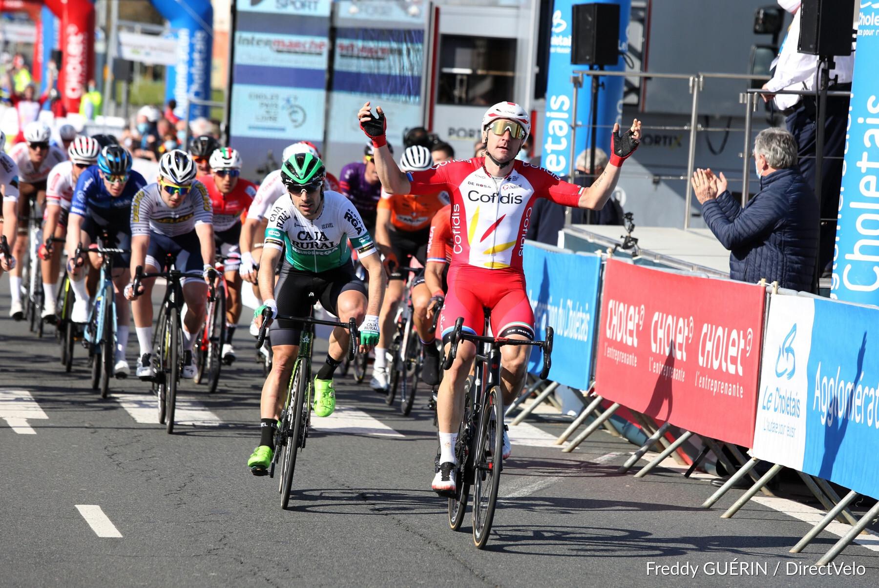 Viviani termina jejum de vitórias na Cholet – Pays de la Loire!
