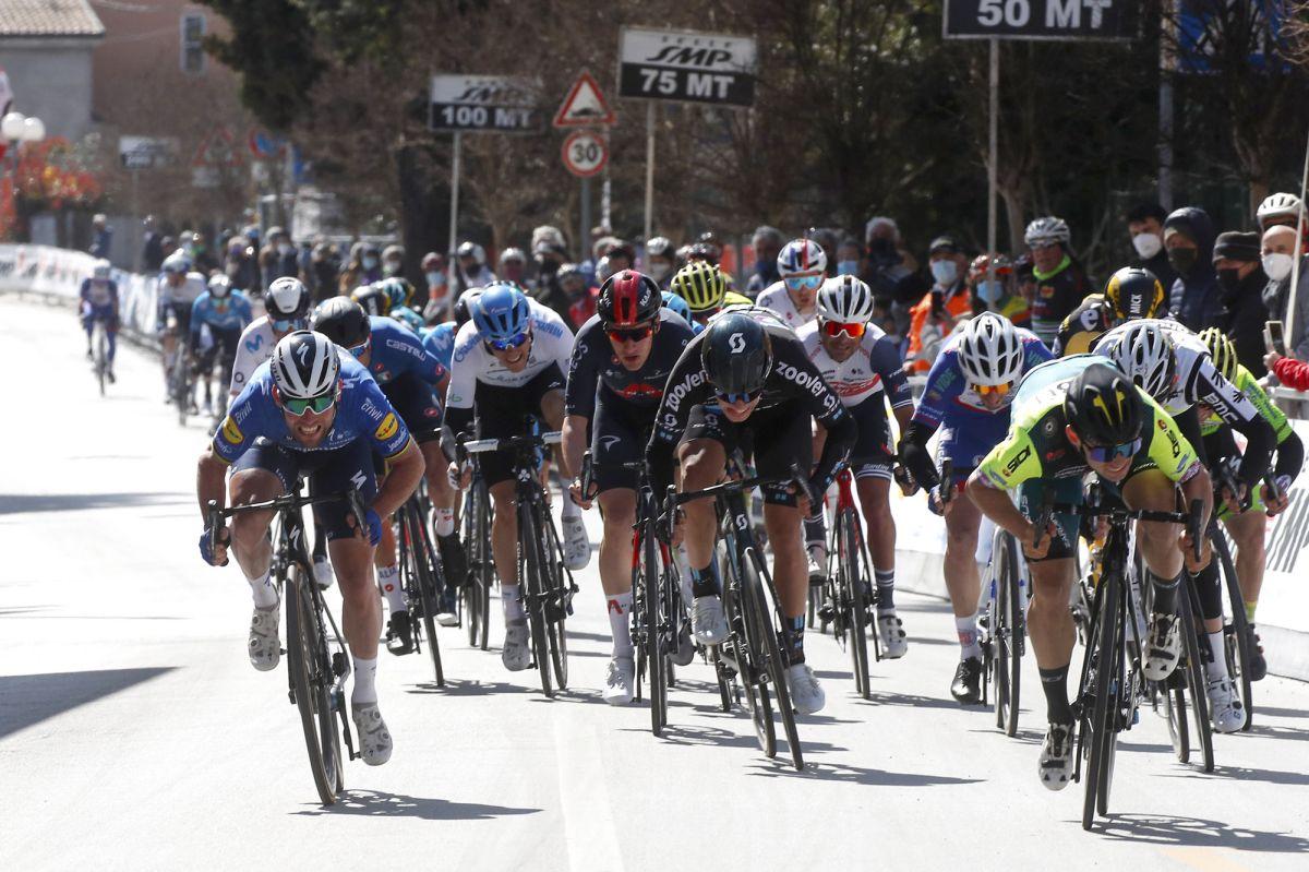Mareczko bate Cavendish no 1º dia de Coppi e Bartali!