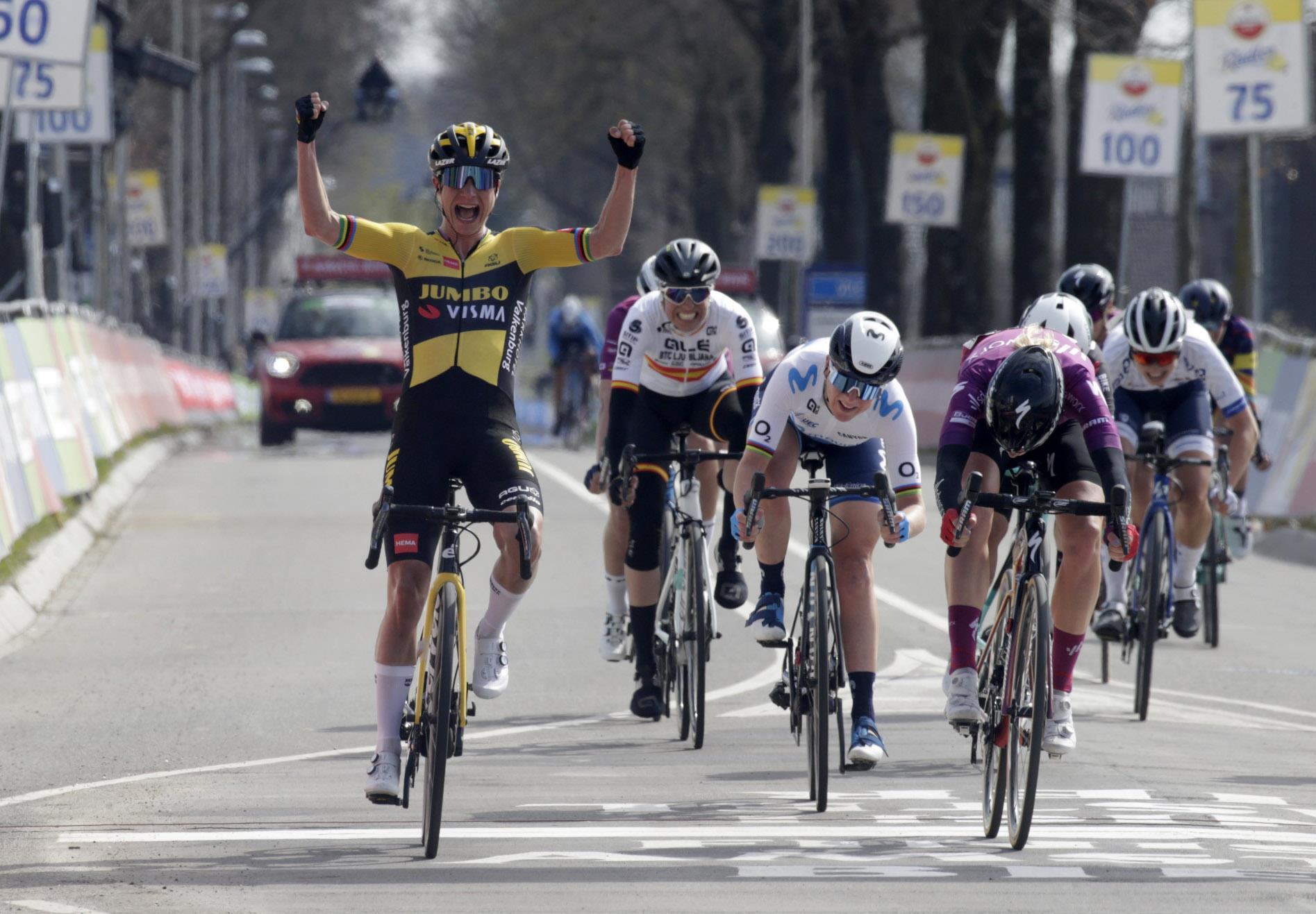 Marianne Vos adiciona a Amstel ao palmarés com uma fantástica vitória!