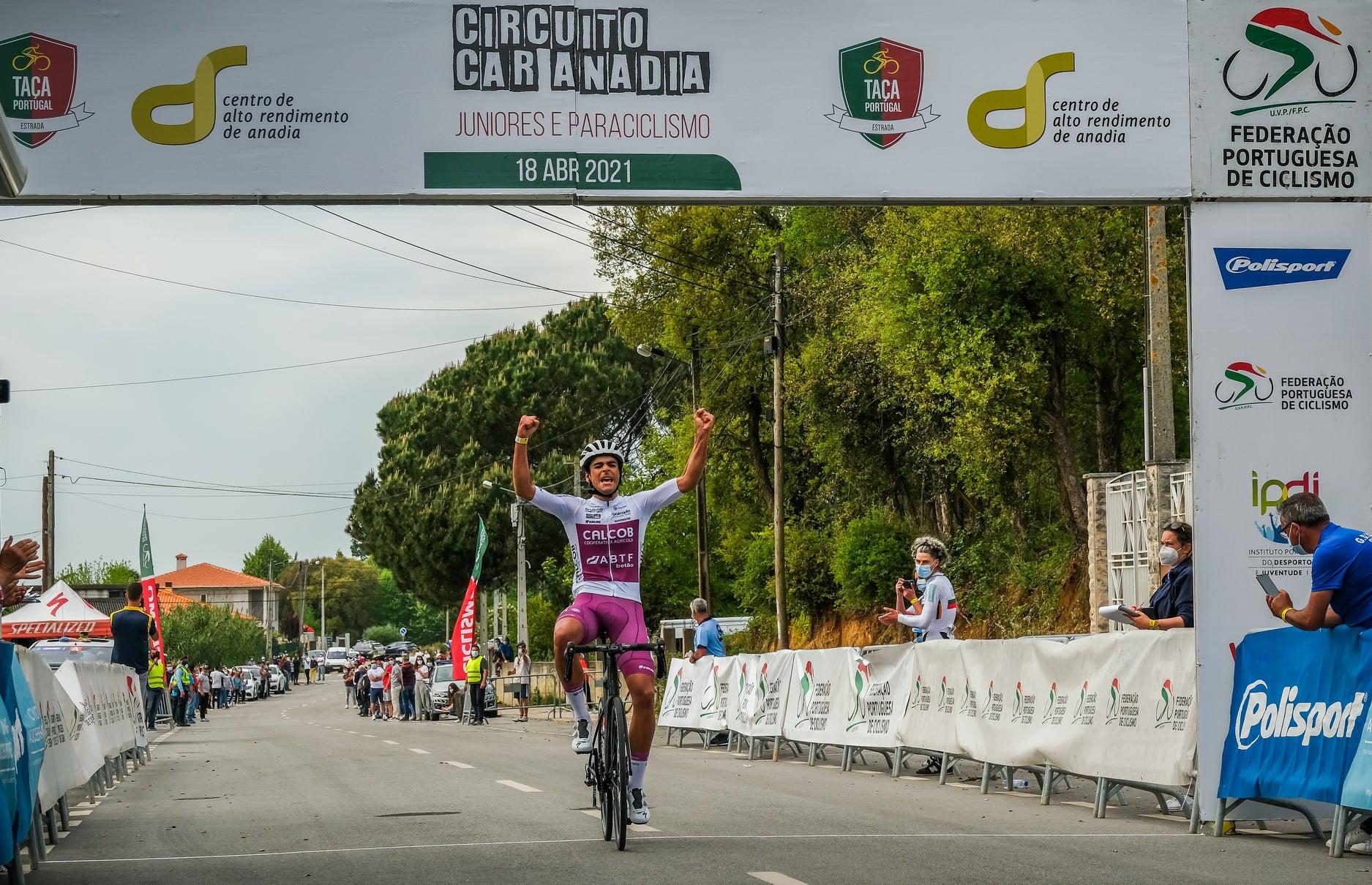 António Morgado conquista o Circuito CAR Anadia na 1ª Prova da Taça de Portugal de Juniores!