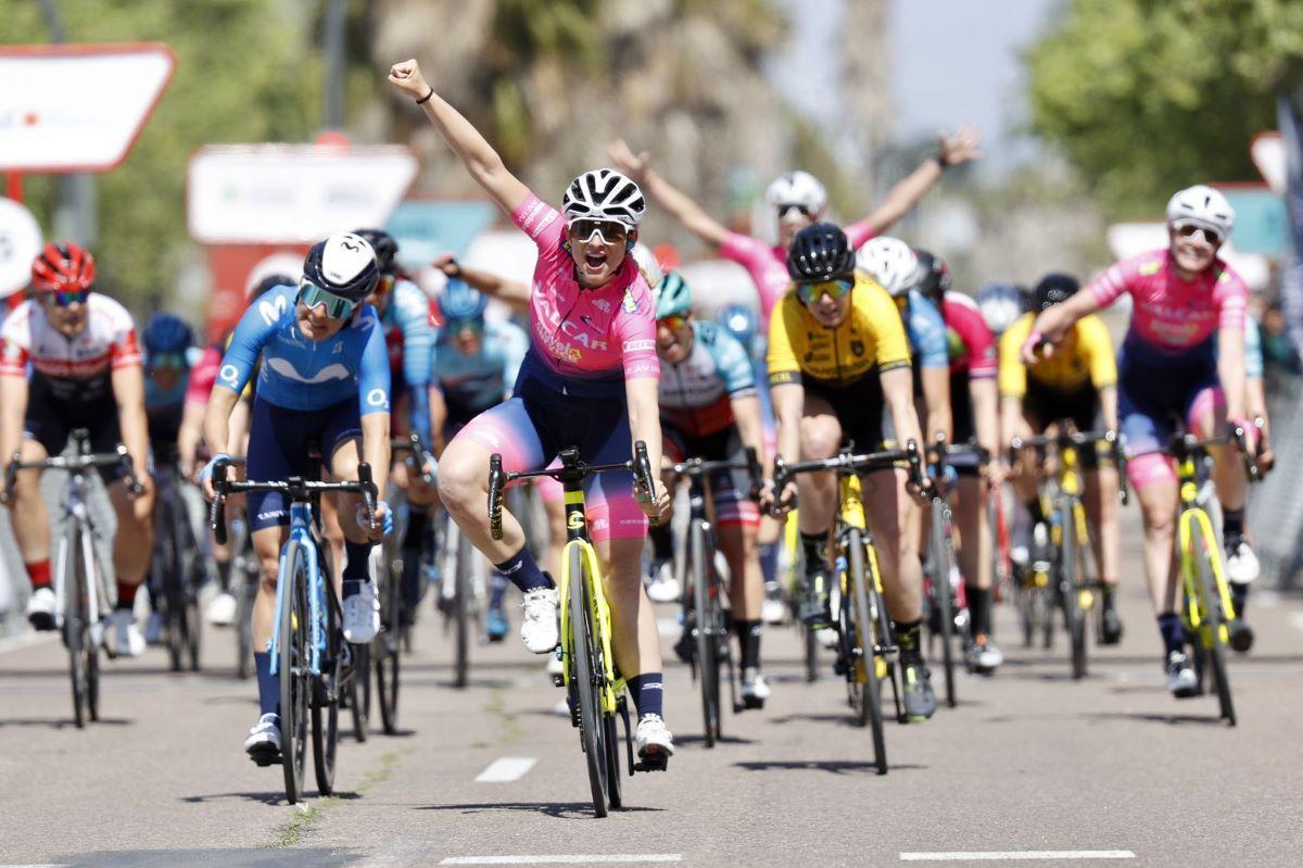 Consonni conquista a Vuelta CV Féminas em mais um grande dia da Valcar!