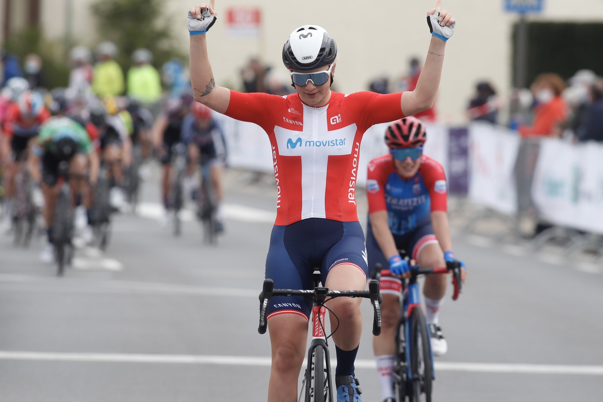 Finalmente a tão desejada vitória para Emma Norsgaard!