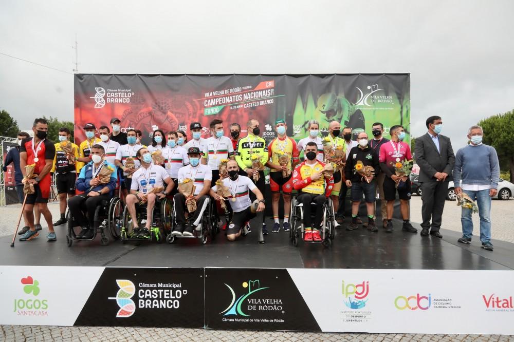 Onze novos campeões nacionais de Paraciclismo!