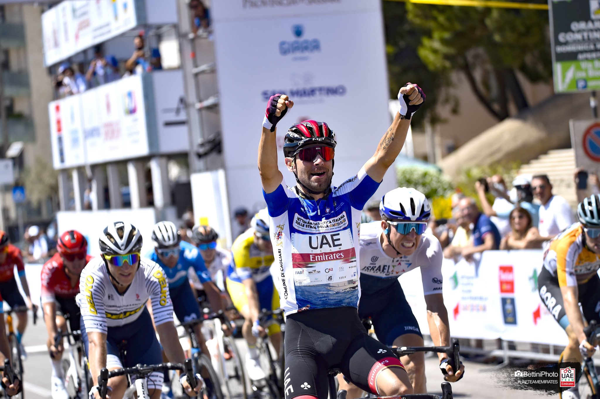 Ulissi volta a vencer na Settimana Italiana e aumenta diferenças!