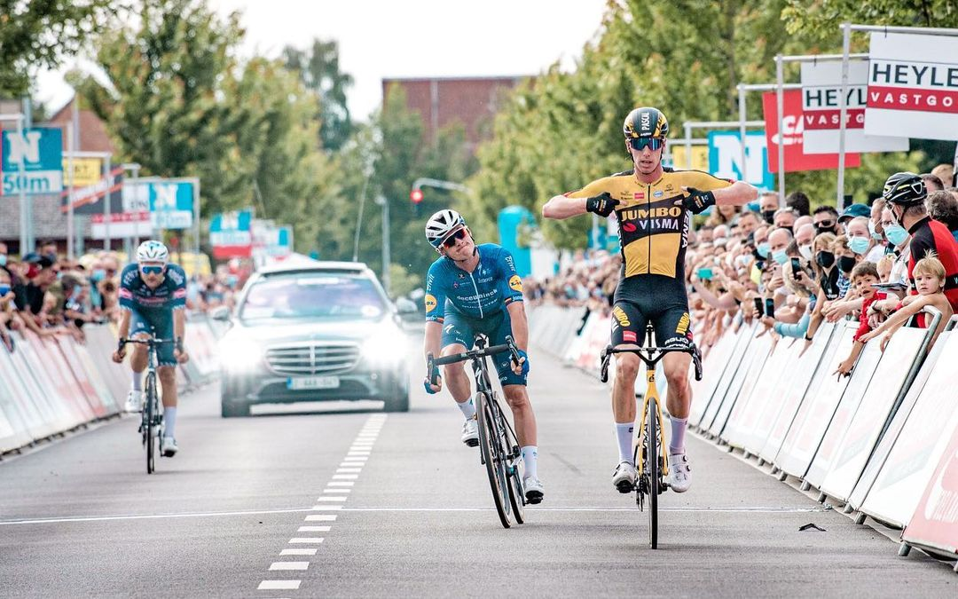 Pascal Eenkhoorn levou a melhor e conquistou a clássica Heylen Vastgoed Heistse Pijl!