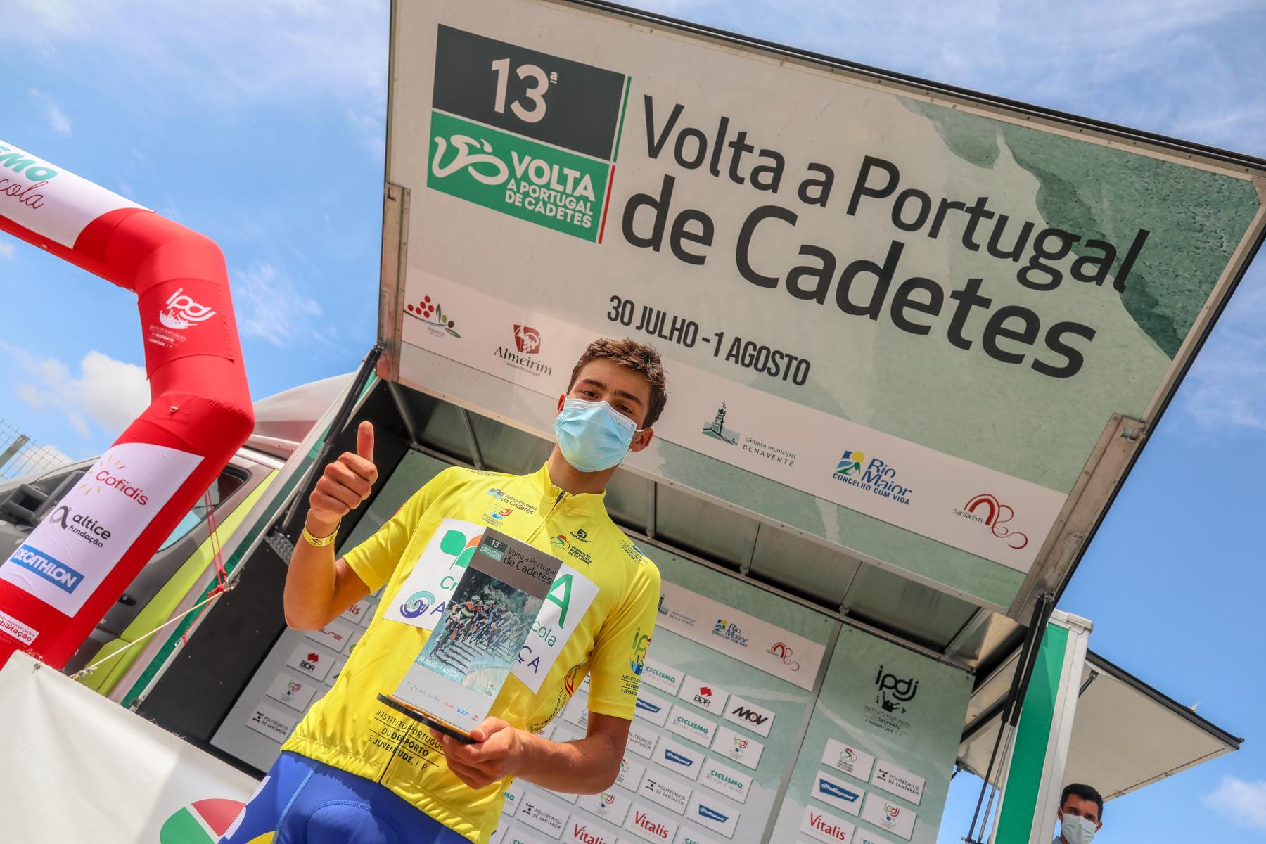 A Volta a Portugal é portuguesa! Tiago Santos é o vencedor da Volta a Portugal de Cadetes!