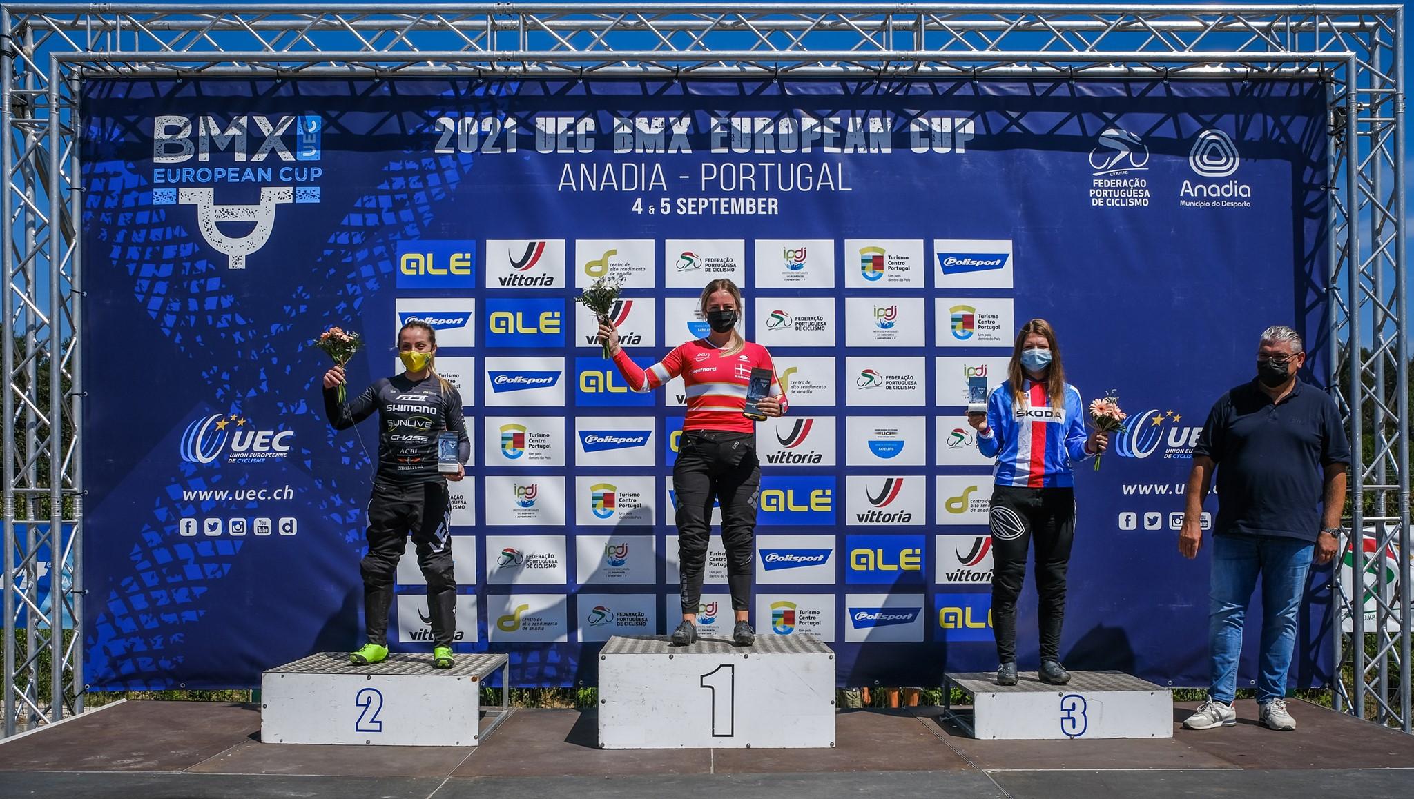 Dorte Balle e Nadina Aeberhard vencem na Taça Europeia de BMX em Anadia!