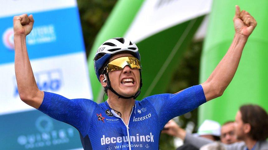 João Almeida entra com uma vitória no Luxemburgo!