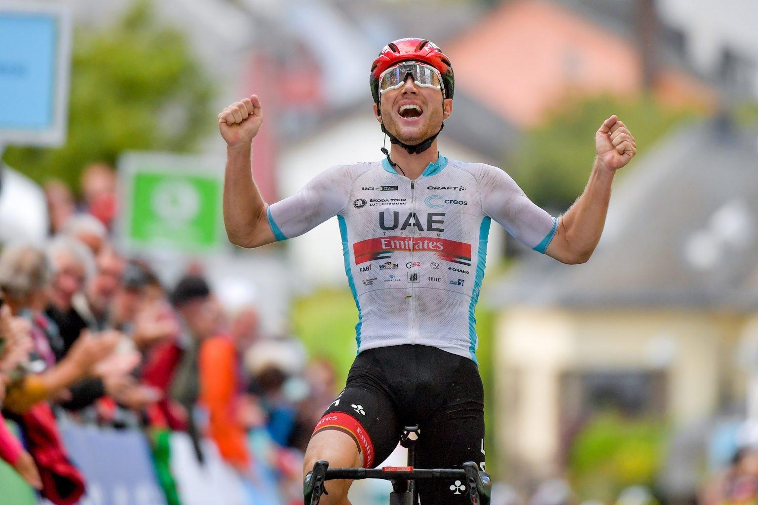 Marc Hirschi vence etapa e sobe à liderança do Skoda Tour! João Almeida defendeu-se bem com 2º lugar!