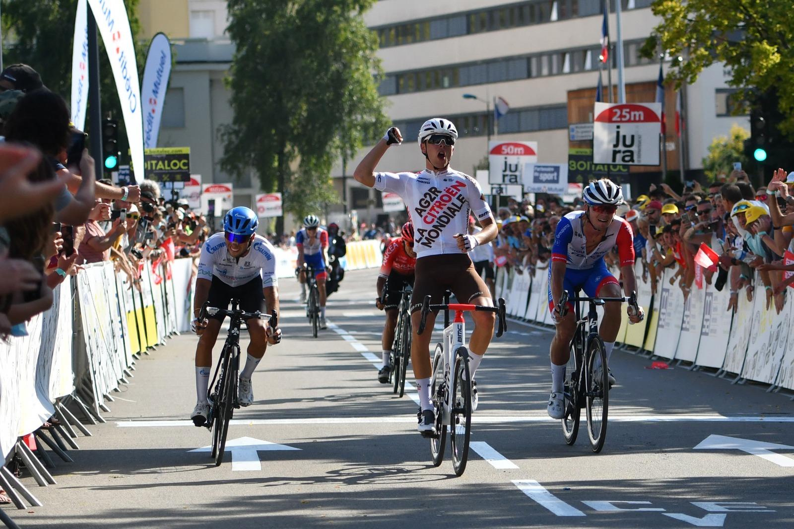 Benoit Cosnefroy vence o Tour du Jura!