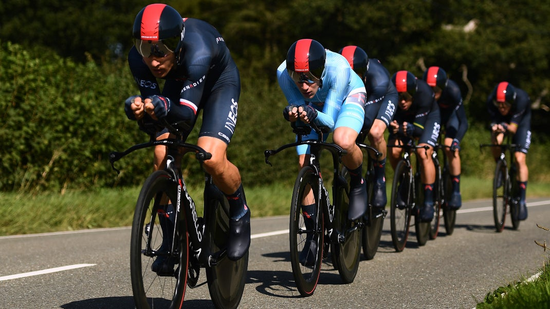Ineos Grenadiers vence o contrarrelógio coletivo do Tour of Britain! Ethan Hayter é o novo líder!