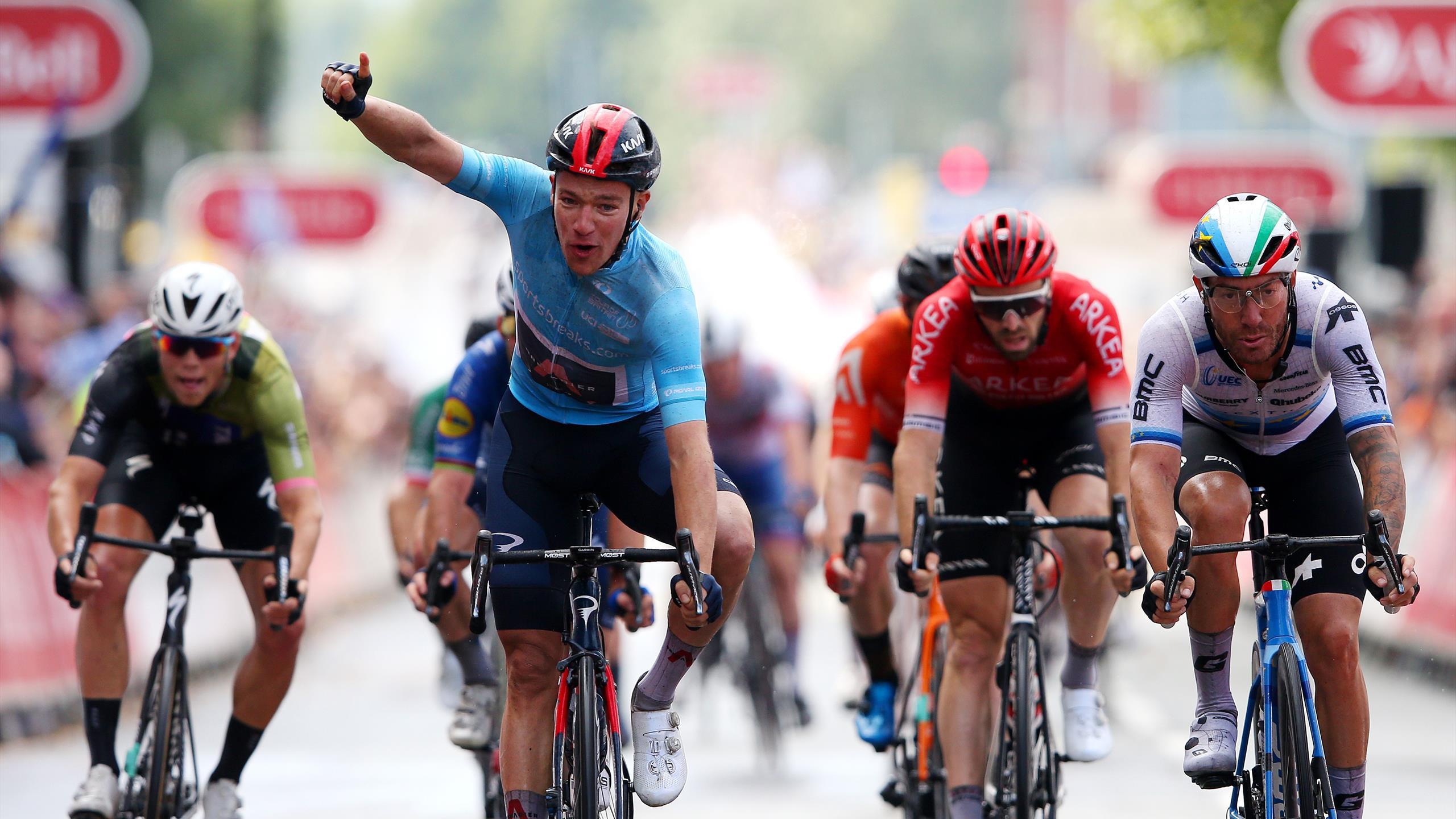 Ethan Hayter vence a etapa 5 do Tour of Britain e regressa à liderança da geral!