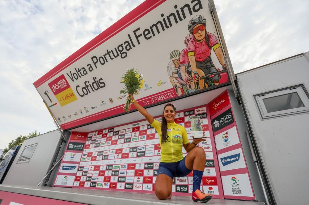 Raquel Queirós faz história e conquista primeira Volta a Portugal Feminina!