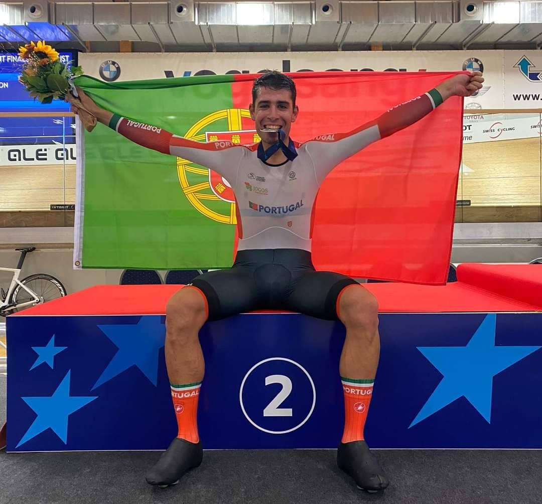 João Matias inicia europeus com medalha de prata!