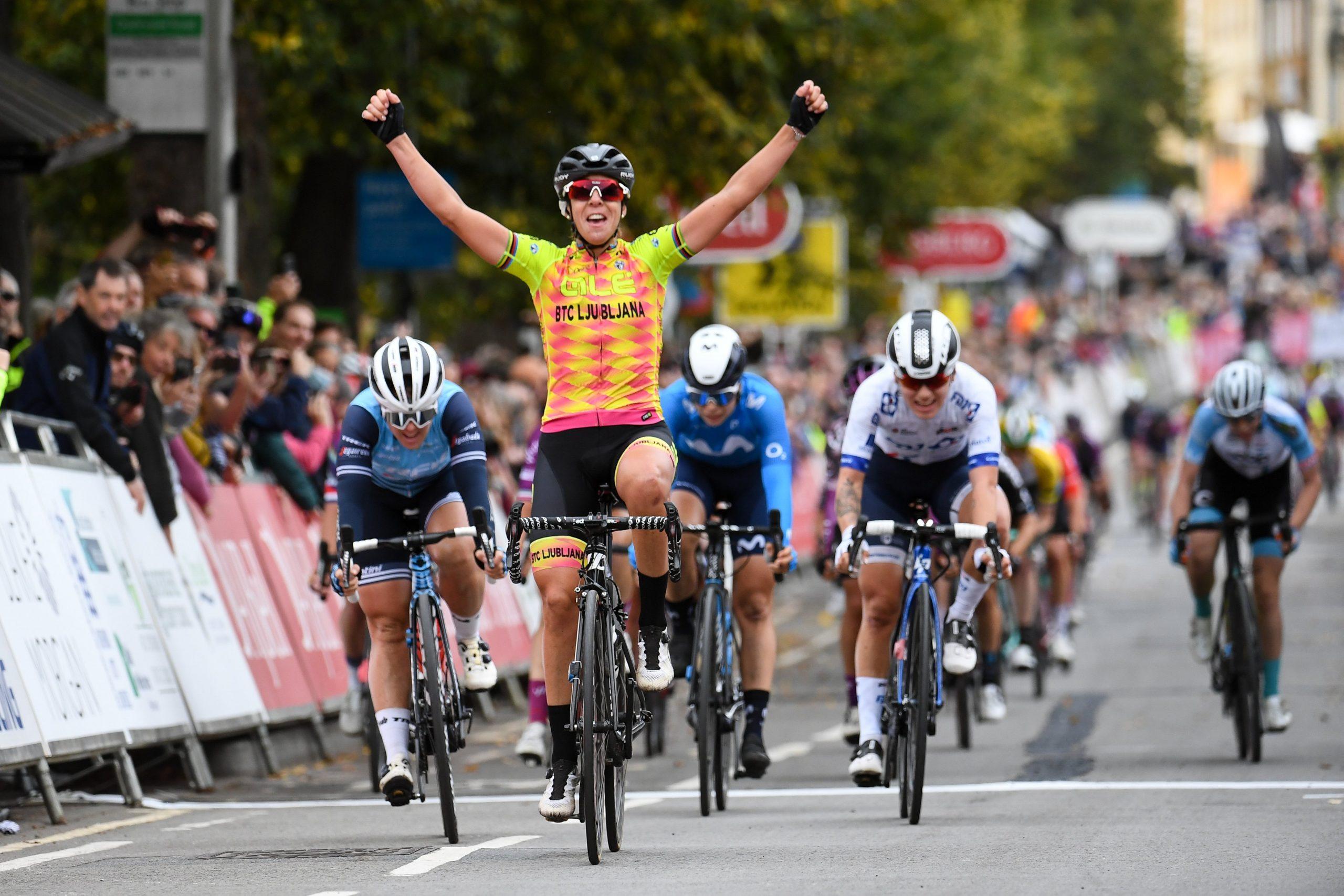 Marta Bastianelli entra a vencer no Women's Tour!