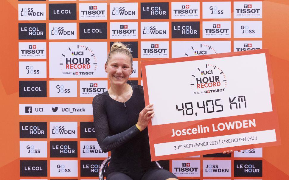 Joscelin Lowden a nova recordista da Hora!